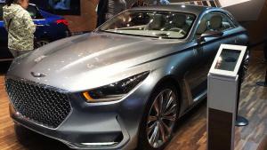 2015法兰克福车展 现代Vision G概念车