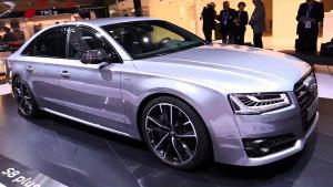 2015法兰克福车展 奥迪S8 Plus亮相