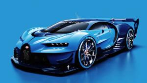 布加迪Vision GT概念车 设计理念解读