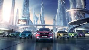 陆风全新SUV车型X7 搭8速自动变速器