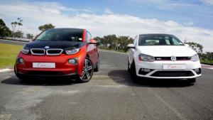 直线加速战 宝马i3杠上大众Polo GTI