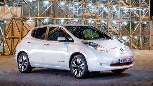 新款日产聆风电动车 续航里程增加90km