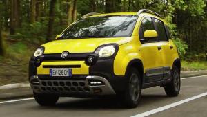 2015款菲亚特熊猫Cross版 配四驱系统