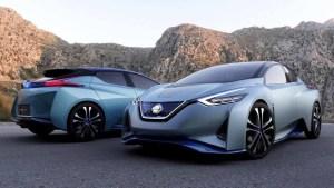 日产IDS电动概念车 采用双驾驶模式