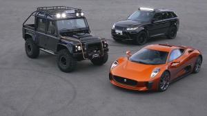 《007:幽灵党》 捷豹路虎车型对比评测