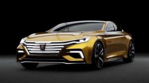荣威Vision-R概念车 采用律动设计