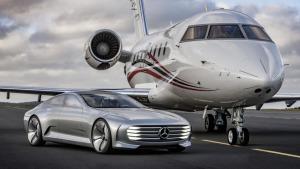 奔驰Concept IAA 智能空气动力汽车展示