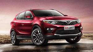东南首款SUV车型DX7 定位为紧凑级