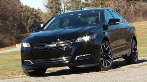 2016款雪佛兰Impala特别版 车身更炫酷