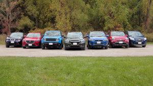 动力操控逐一对比 七款紧凑级SUV混战