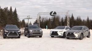 雷克萨斯SUV家族 冰雪盛宴尽显风情