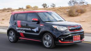 起亚无人驾驶车 基于海外版秀尔EV