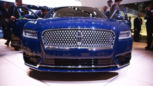 2016北美车展 林肯Continental量产版