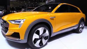 2016北美车展 全新概念车奥迪h-tron