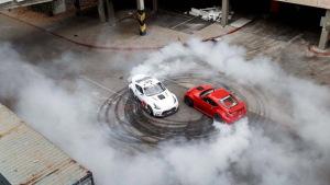 2015款日产370Z Nismo 极限甩尾漂移