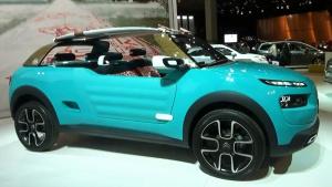 雪铁龙Cactus M概念车 配色格外小清新