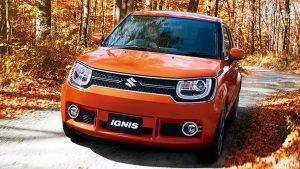 2016款铃木IGNIS小型车 搭载四驱系统