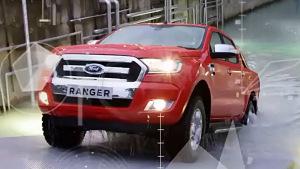 福特Ranger皮卡 最小离地间隙230毫米