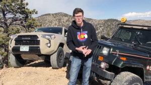 新款丰田4Runner 越野对战Jeep牧马人