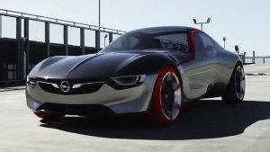 全新欧宝GT概念车 极速可达215km/h
