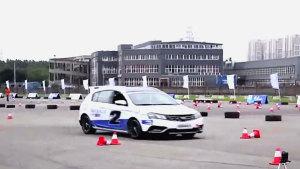 中国方程式大赛 吉利帝豪RS赛车体验