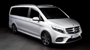 2016款奔驰V级 三排七座豪华MPV
