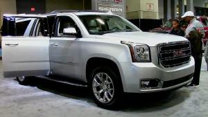全尺寸7座SUV GMC育空XL外观实拍