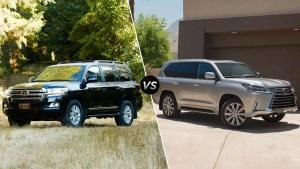 大型SUV对比 兰德酷路泽VS雷克萨斯LX