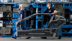 跟随宝马i8遥控车 探秘BMW德国生产车间