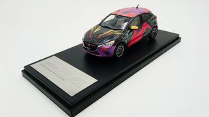 马自达2纸模型原创大赛 特等奖微型车