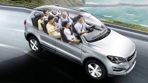 众泰大迈X5七座版 自主品牌紧凑级SUV