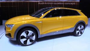 奥迪h-Tron Quattro 采用氢燃料电池