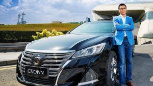 一汽丰田全新皇冠 打造高品质家轿
