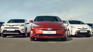 丰田家族混动汽车集结 八百万用户选择