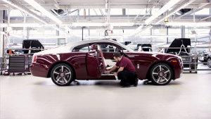 豪车诞生地 劳斯莱斯古德伍德生产车间