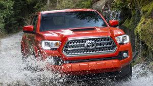 新款丰田Tacoma皮卡 配置齐全越野强悍