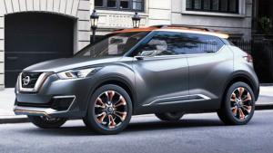 日产Kicks全新小型SUV 轴距2610毫米