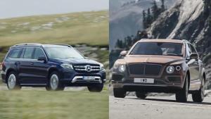 宾利添越VS新款奔驰GLS 豪华SUV对决