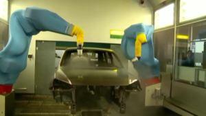 工厂探秘 大众途锐涂装生产车间曝光