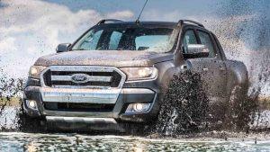 新款福特Ranger皮卡 配备四驱系统