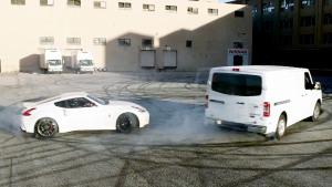 日产370Z/厢式货车 天作之合甜甜圈漂移