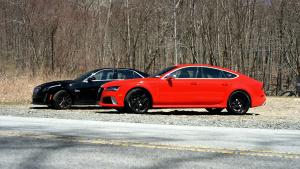 全新凯迪拉克CTS-V 对比2014款奥迪RS7