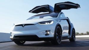 特斯拉Model X P90D 开启狂暴模式