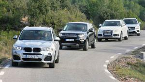 德系三强豪华SUV 对比试驾路虎发现神行
