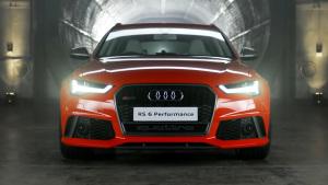 2016款奥迪RS6性能版 最大605马力
