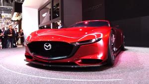 马自达RX-Vision概念车 采用FR布局