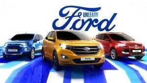 福特锐界领衔家族SUV 探索极致城市生活