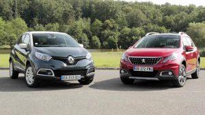 小型SUV对比试驾 雷诺卡缤PK新标致2008