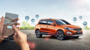 众泰大迈X5升级版 手机智能掌控SUV