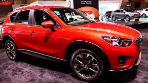 2016款马自达CX-5 配全时四轮驱动系统